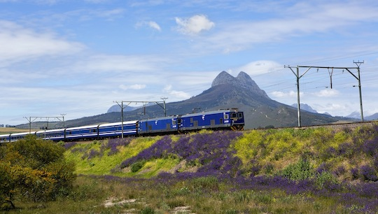 "Der ""Blue Train"" in der Region Simonsberg © Michael Heffernan"