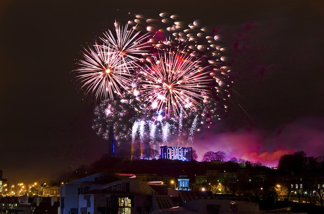 Wow! Silvester in Edinburgh © PR