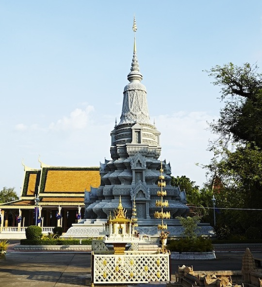 Silberpagode in Phnom Penh © Mark Read