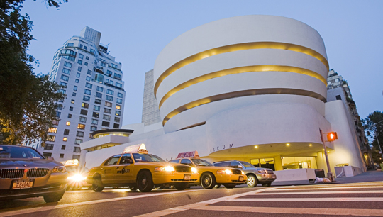 """Guggenheim Museum"" vom Star-Architekten Frank Lloyd Wright © SuperStock"