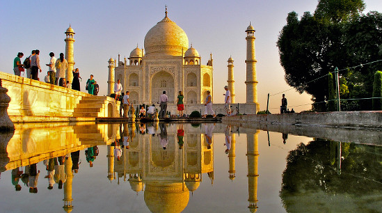 Taj Mahal © India Tourism Frankfurt