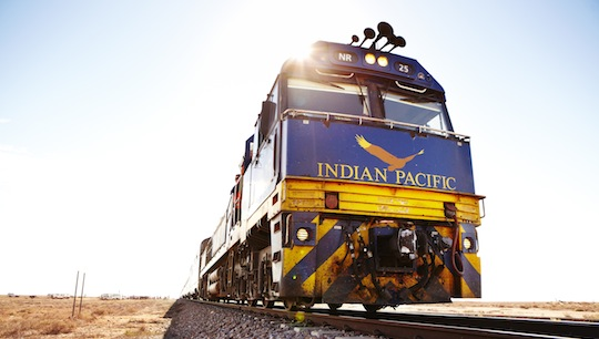 """Indian Pacific"" © Matt Munro"