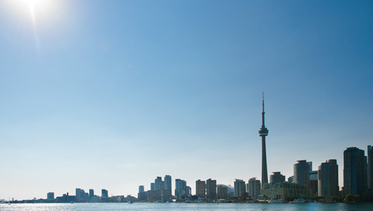 Skyline von Toronto © Canadian Tourism Commission