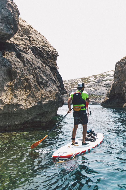 Stand-Up-Paddling ©James Cripps/viewingmalta.com