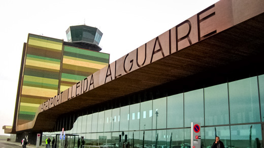 (Foto: zkvrev - Aeroport de Lleida-Alguaire, CC BY 2.0, https://commons.wikimedia.org/w/index.php?curid=9082622)