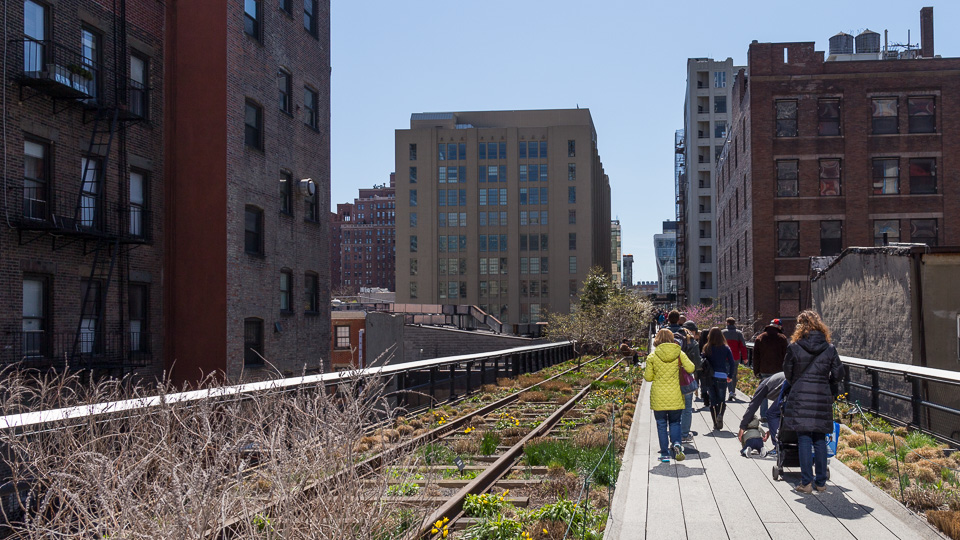 Auf dem Highline Park - (Foto: Stephan Goldmann)
