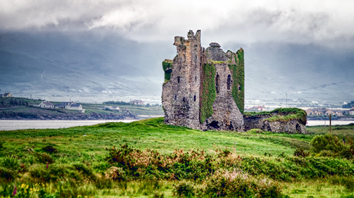 Ballycarberry Castle - (Foto: ©David Maurer/500px)