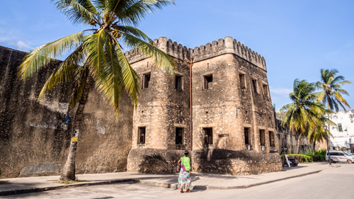 Das alte Fort in Stone Town - (Foto: ©Magdalena Paluchowska/Shutterstock Royalty Free)