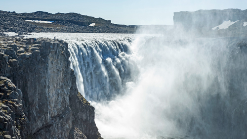 Dettifoss Wasserfall Island - (Foto: ©Justin Foulkes/Lonely Planet)