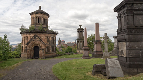 Monteath Monument auf der Glasgow Necropolis - (Foto: Stephan Goldmann)