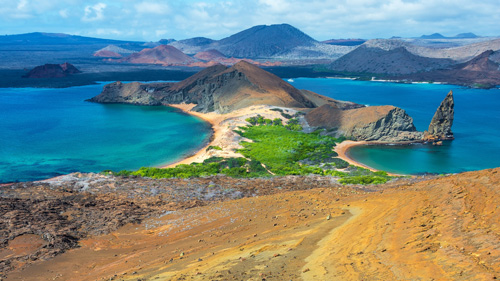 Landschaft auf Bartolome Insel im Galapagos Archipel - (Foto: © DC_Colombia/Getty Royalty Free)