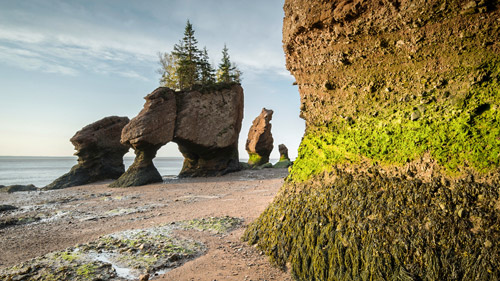 Die Bay of Fundy in New Brunswick - (Foto: ©Justin Foulkes/LP TRAVELLER MAGAZINE COLLECTION)