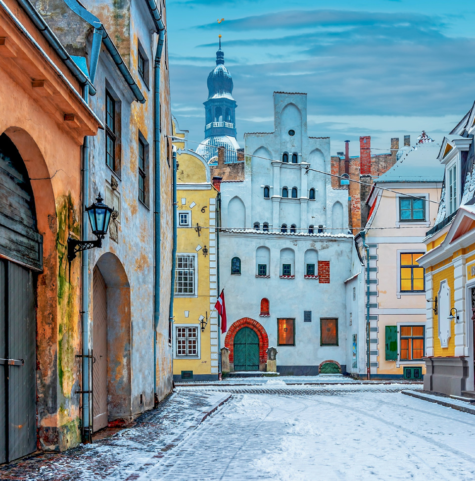 Pittoresque Häuser in Riga - (Foto:©gorsh13/Getty Images/iStockphoto)