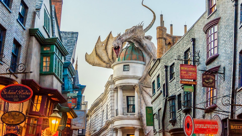 Die Wizzarding World of Harry Potter in Florida ist ein todsicherer Tipp für reisende Potter-Fans - (Foto:©NavinTar / Shutterstock)