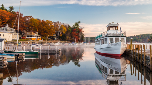 Sunapee Hafen, New Hampshire - (Foto: © thomas h. mitchell/500px Royalty Free)