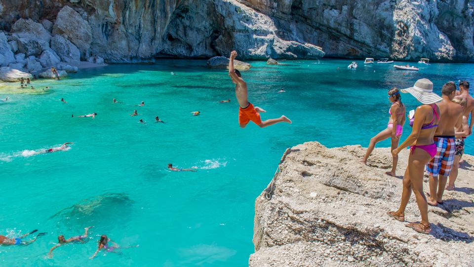 Karte Sardinien Strände.Sardiniens 10 Top Strände Wo Endlos Weißer Sand Ein Türkisfarbenes