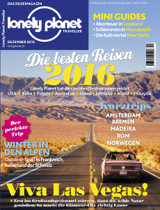 Lonely Planet Traveller Cover 12/15