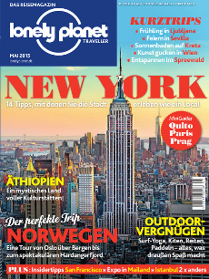 Mai-Ausgabe Lonely Planet Traveller