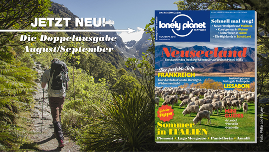 Lonely Planet Traveller August 2015