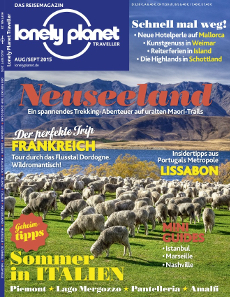 Lonely Planet Traveller Cover Neuseeland