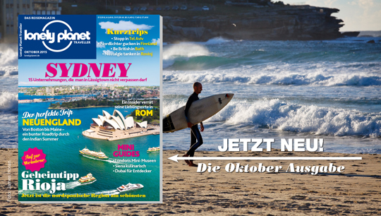 Lonely Planet Traveller Ausgabe Oktober 2015