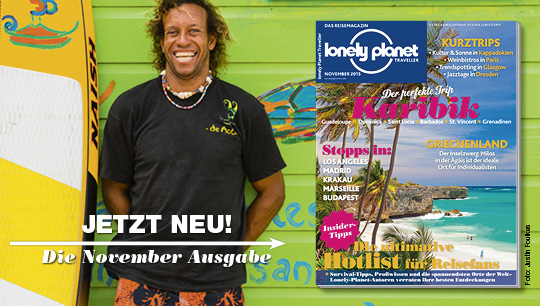 Lonely Planet Traveller November 2015
