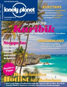 Cover Lonely Planet Traveller November 2015