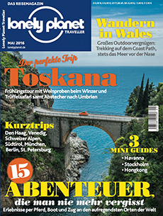 Lonely Planet Traveller Mai 2016