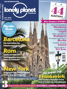 Cover Lonely Planet Juli 2016