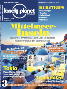 Lonely Planet Traveller August 2016