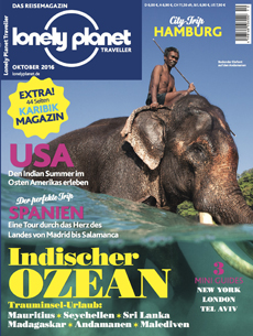 Cover Lonely Planet Oktober 2016