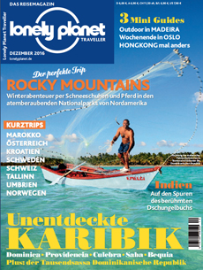Cover Lonely Planet Traveller Dezember 2016