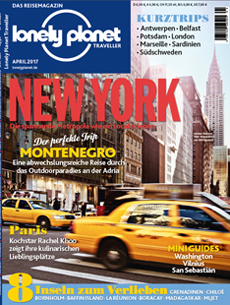 Lonely Planet Traveller April 2017