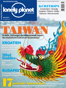 Lonely Planet Traveller Mai 2017