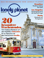 Lonely Planet Magazin-Cover April/Mai 2019